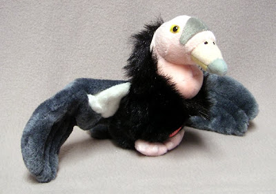 Stuffed California Condor in Audubon Birds Series