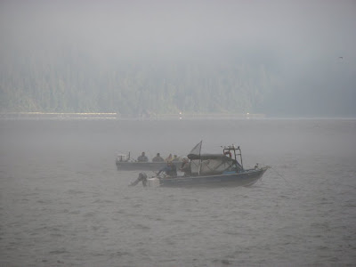 Fishing for Sturgeon, Astoria, Oregon