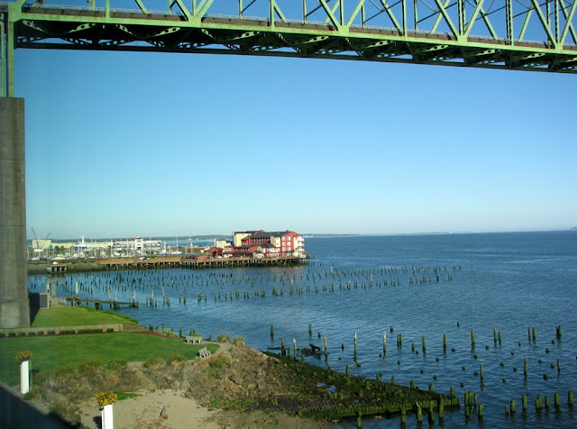 Cannery Pier Hotel from the Holiday Inn Express