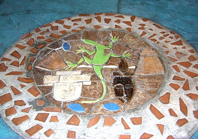 Lizard Mosaic by Francisca