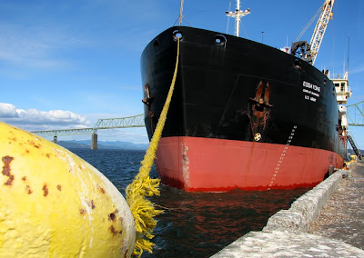 Dredge Ship Essayons in Dock, Astoria, Oregon