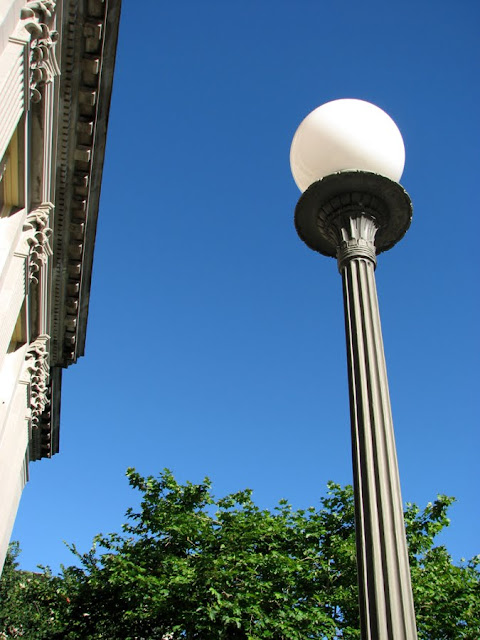 Lamp Post at the Post Office