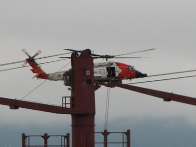 Helicopter Transfer and a Ship Called Pole