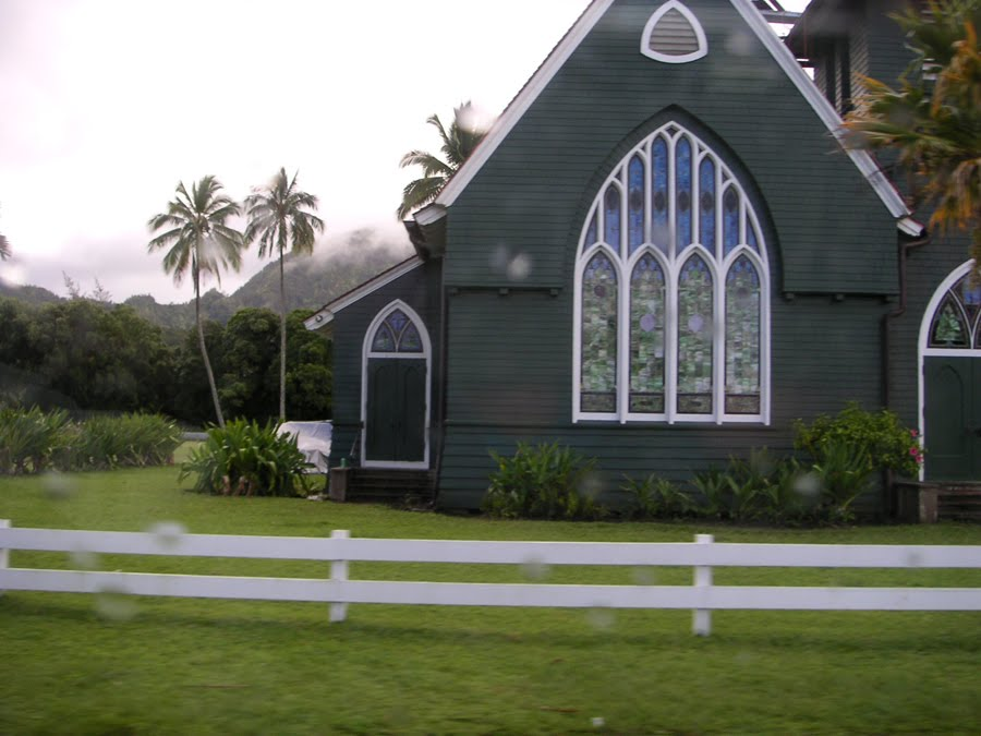 Gothic Church in Kauai, Hawaii