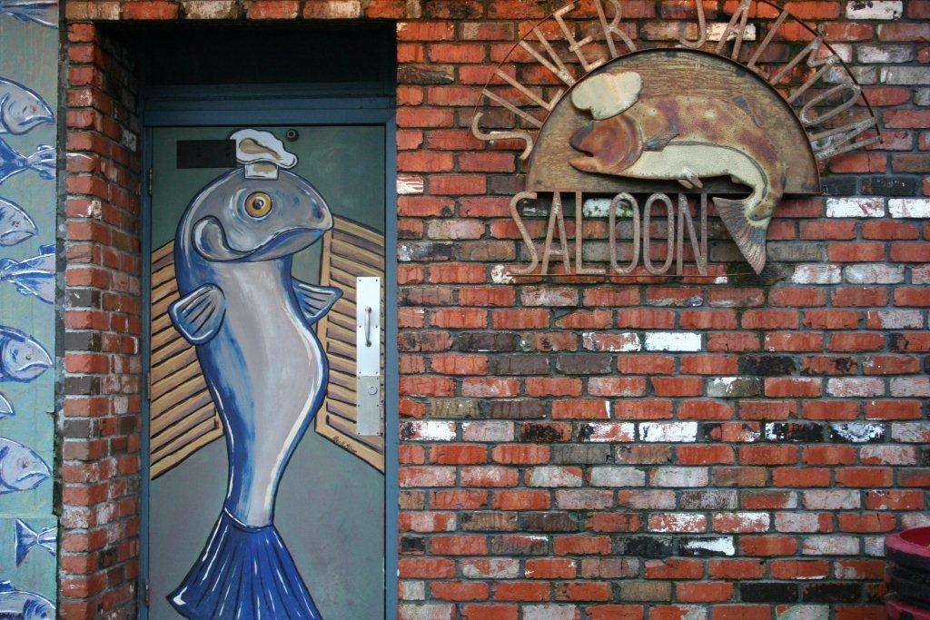 Silver Salmon Saloon, Astoria, Oregon