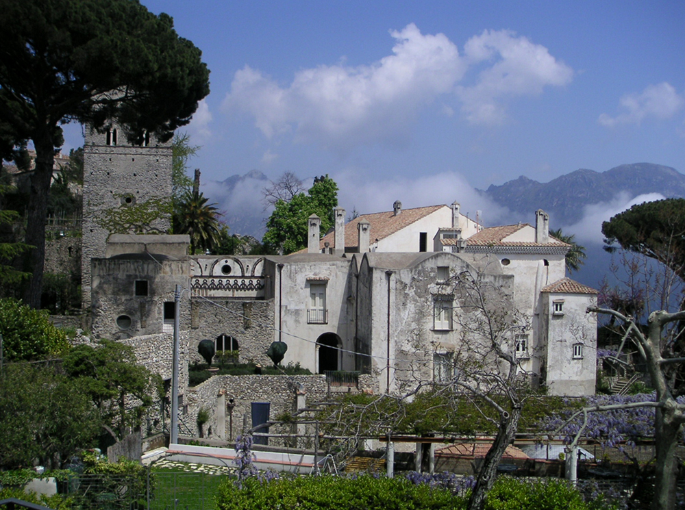 Buildings in Ravello