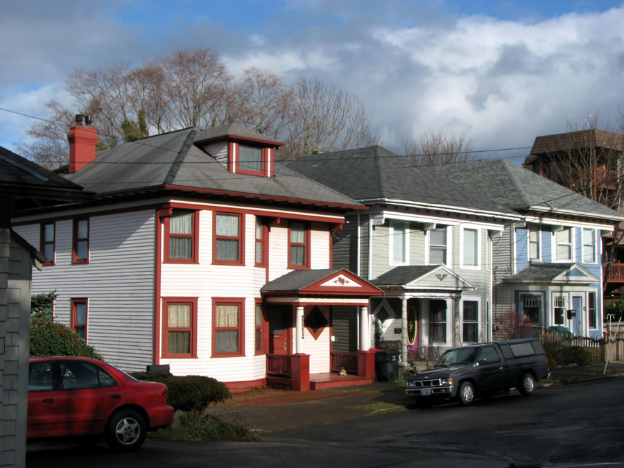 Interesting Houses on Grand Avenue in Astoria