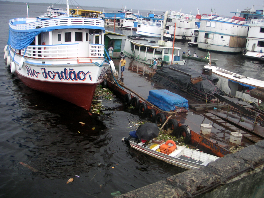 Docks at Manaus Market