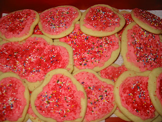 Unbleach Flour Sugar Cookies
