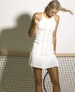 Maria Sharapova White Nike  Dress