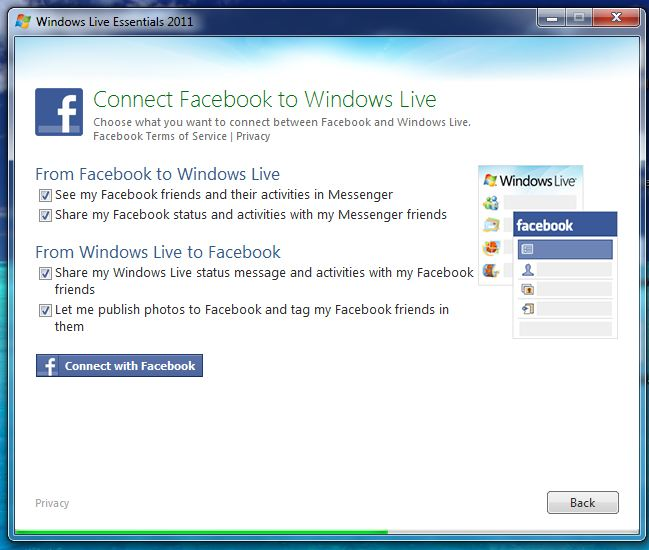 Lynspirations: Windows Live Essentials 2011 Screenshots
