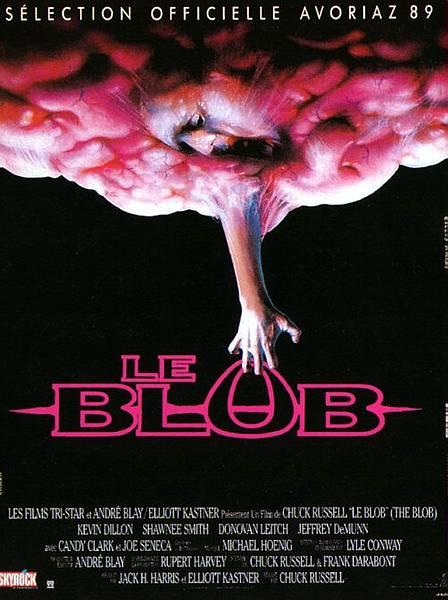 """Pelicula de unas babosas rosadas indestructibles que pasaba por 1992 en Mexico, y una pelicula de perros asesinos de un canal de televisa en una seccion llamado """"exitos de hollywood"""" The+blob+1988"""