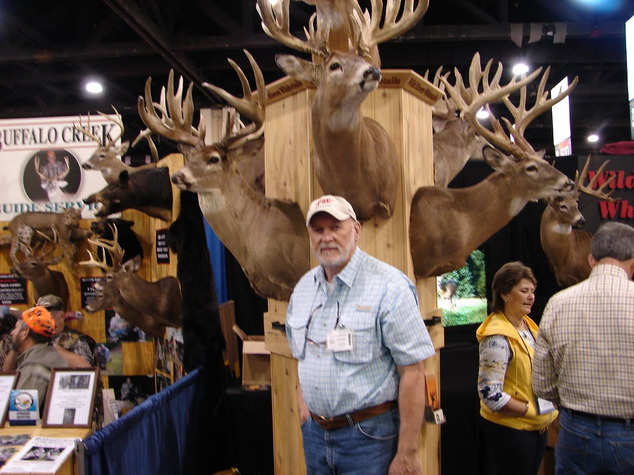 Foothillsoutdoors harry hampton hunting and fishing expo for Hunting and fishing show