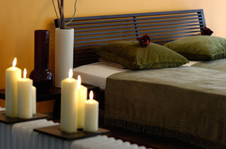 Романтика в спальне фото.