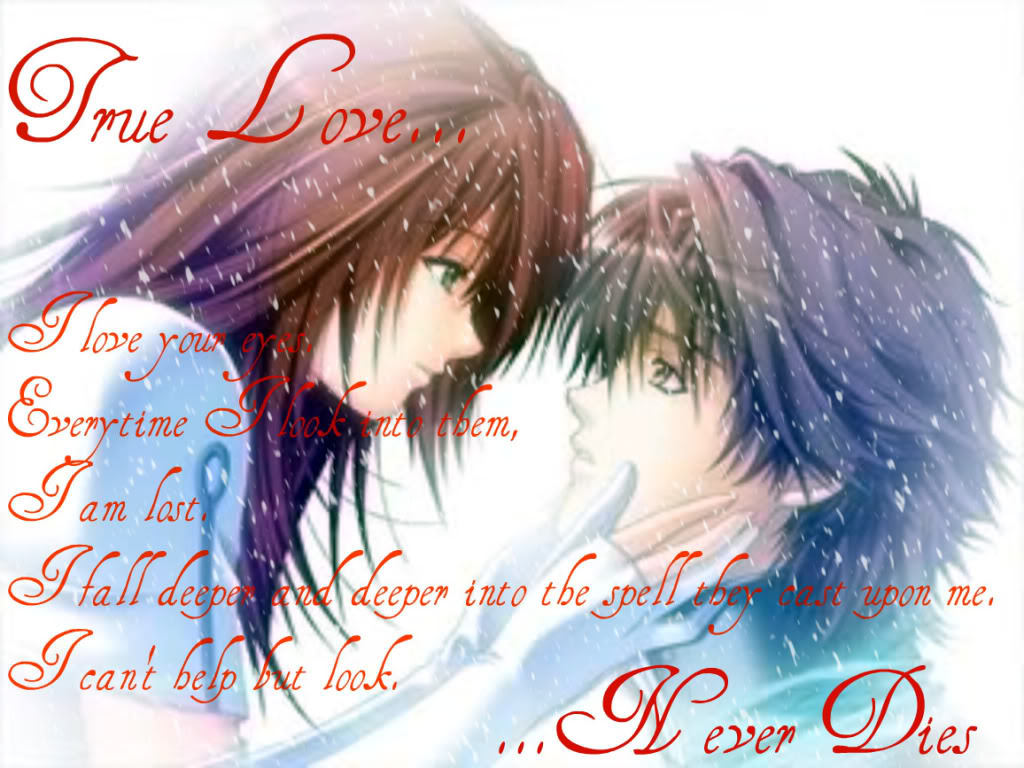 anime romantic love quotes quotesgram