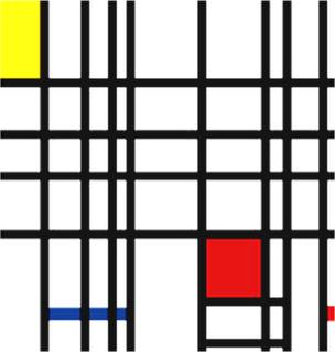Abstracionismo- Piet Mondrian