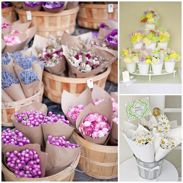 2BSquared Designs DIY Mini Farmers Market Flowers