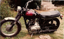 My first bike '66 Trimuph Trophy 500