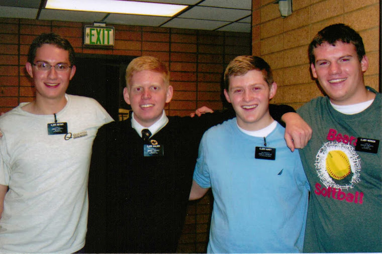 Elder Snyder, Elder Walker, Elder ? and Elder Pierson