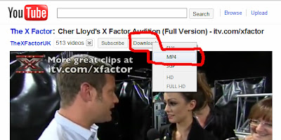 Download video from YouTube by using forefox add-ons