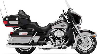 MOTORCYCLE HARLEY DAVIDSON PEACE OFFICER ULTRA CLASSIC ELECTRA GLIDA 2011