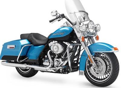 MOTORCYCLE HARLEY DAVIDSON SHRINE ROAD KING 2011