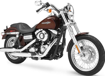 MOTORCYCLE HARLEY DAVIDSON FXDC DYNA GLIDE CUSTOME 2011