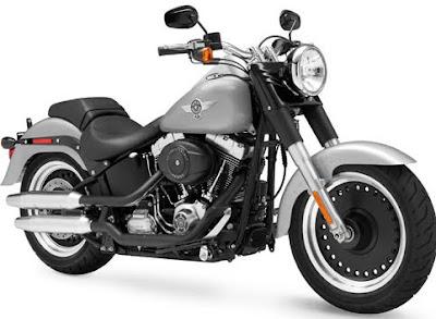 MOTORCYCLE HARLEY DAVIDSON FLSTFB FAT BOY LO 2011
