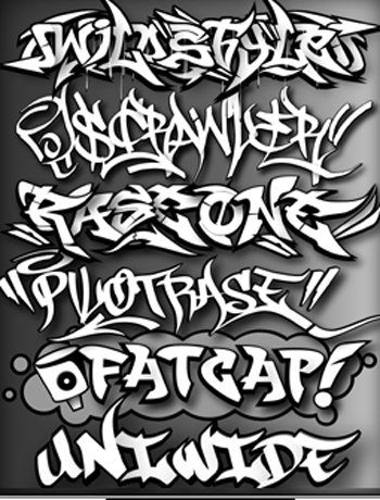 Graffiti Alphabet Printables. DESIGN GRAFFITI ALPHABET