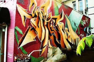DESIGN GRAFFITI STYLE STREET