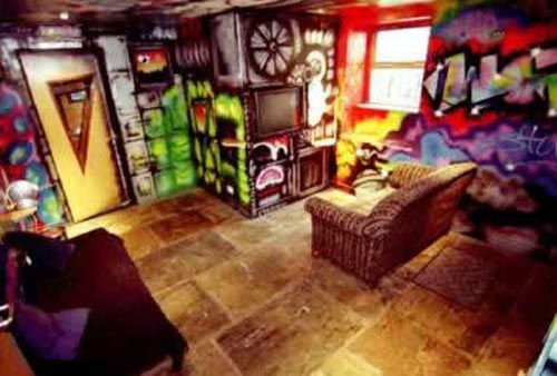Graffiti image design graffiti tagging with style room for Chill bedroom ideas