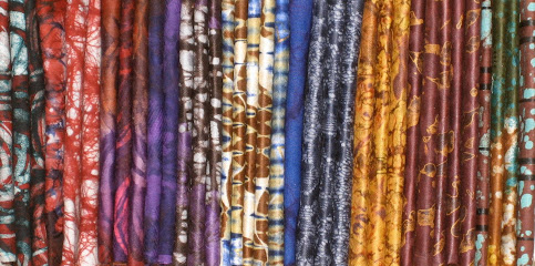 Kampala batik - quarter yard fabric