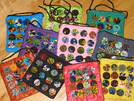 Yo-yo bags, zippered with shoulder strap
