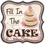 Fill In The Cake Button