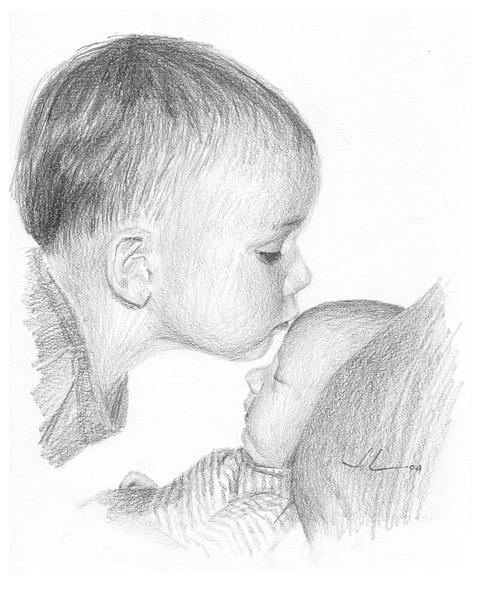 рисуем картинки про любовь карандашом