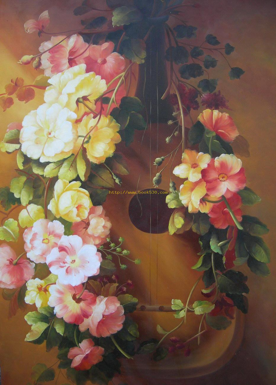 Free high resolution pictures modern oil paintings for Flower paintings on canvas