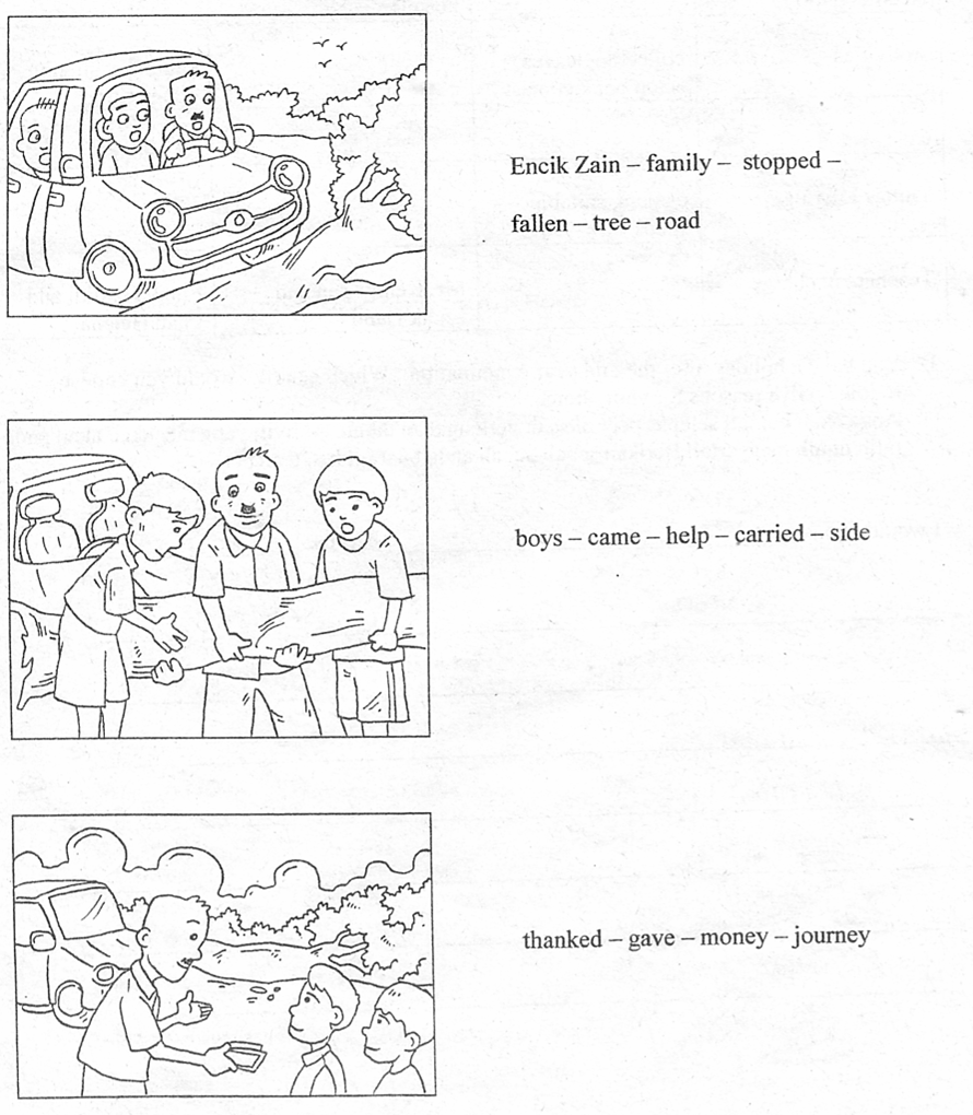 english upsr writing techniques section c question  section c question 3