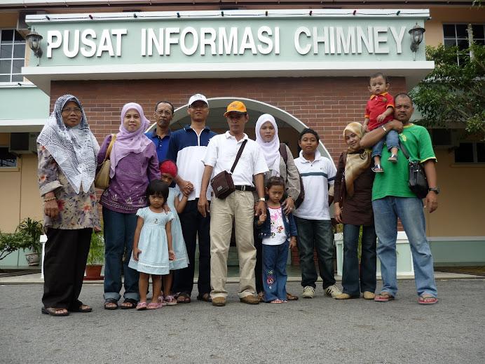 LOKASI:Pusat Informasi Chimney...kan besor tulisan signboard tu...