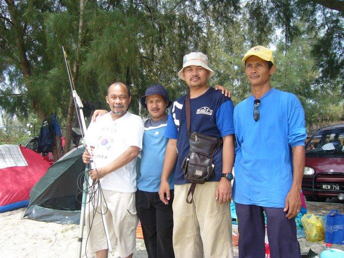 xtvt riadah bersama rakan radio amateur Lokalan V38