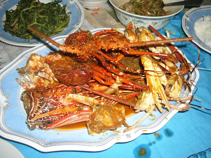 resepi baru lobster masak paes (resepi asli jawa)