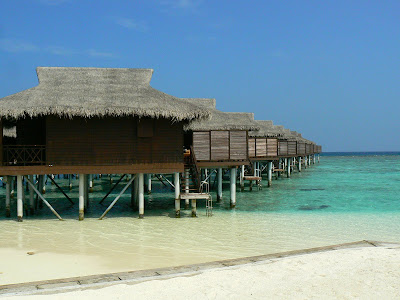 Water villas Maldive