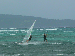 Kite diving in Filipine
