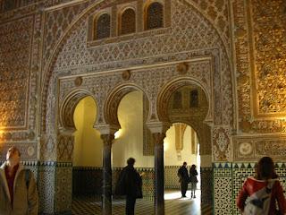 Obiective turistice Sevilla: Alcazar
