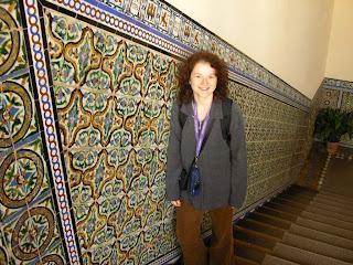 Imagini Andaluzia: azulejos in Sevilla