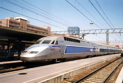 Tren TGV Franta