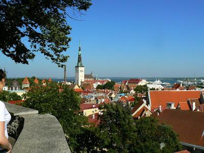 Obiective turistice Estonia: panorama orasului vechi Talinn