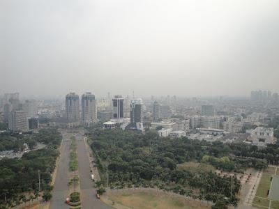 Imagini Jakarta: panorama asupra orasului