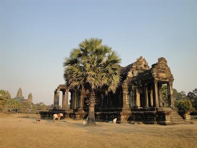 Imagini Angkor Wat: templu khmer