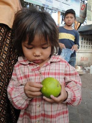 Copil din Cambogia