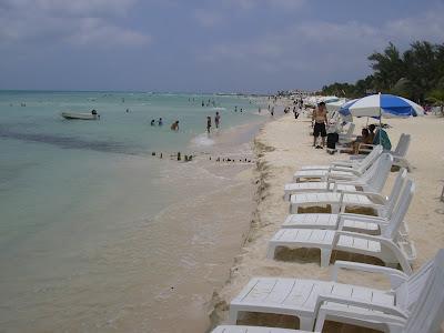 Plaja la Marea Caraibelor